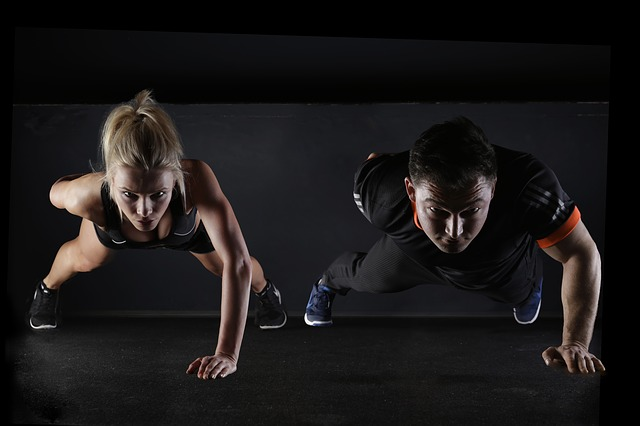 fitness ve dvou