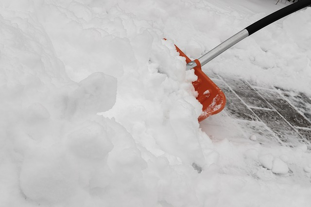 odhrnování sněhu